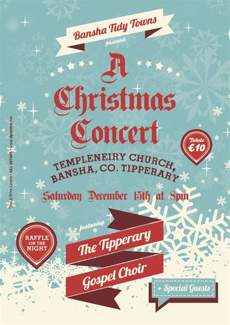 themes for christmas carol service tickets for bansha tidy towns a christmas concert