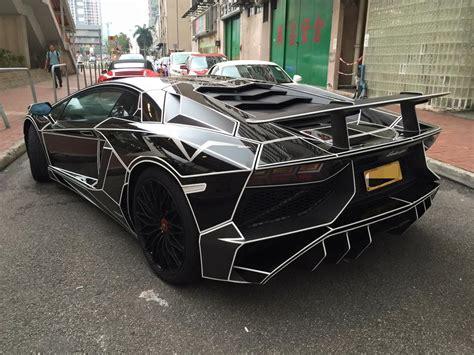 Tron Lamborghini Price by Tron Style Lamborghini Aventador Sv By Impressive Wrap