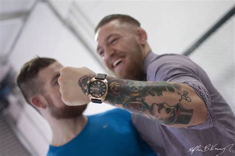 conor mcgregor s watch collection second hand time shop