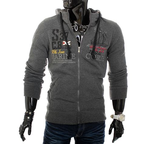 Hoodie Jumper Dan Zipper jumper hoodie zipper sweatshirt sweat jacket shirt ebay