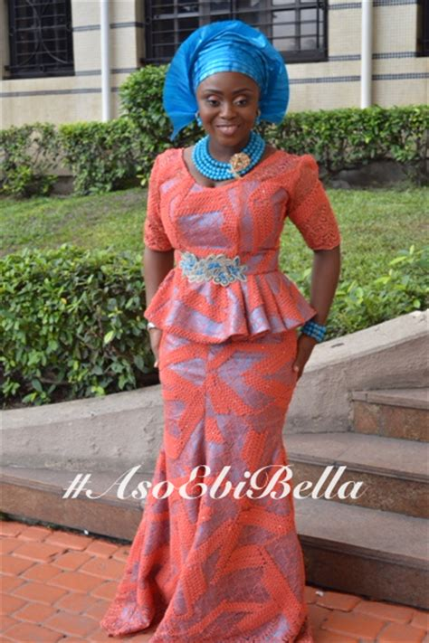ww com asoebibella bellanaija skirt and blouse styles peach chevron blouse