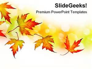 autumn background nature powerpoint templates and
