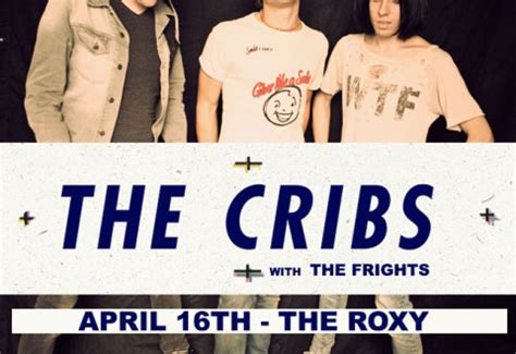 The Cribs Tickets by The Cribs Los Angeles
