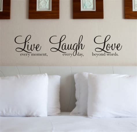 live laugh love art live laugh love wall art sticker wall quote wa088x