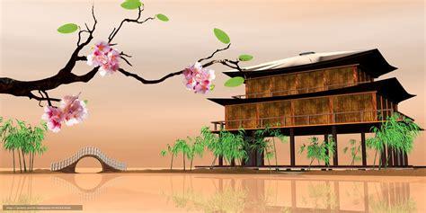 imagenes de paisajes orientales descargar gratis sakura paisajes orientales casa en el