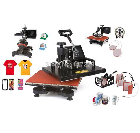 design t shirt machine advanced new design 6 in 1 sublimation machine digital