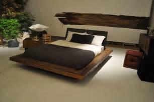 contemporary bedroom wooden bed idea decosee