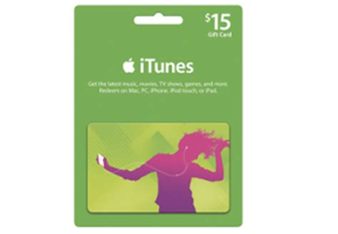 Who Has Itunes Gift Cards On Sale - best buy 15 off apple itunes gift cards free shipping couponing 101