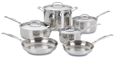 Kitchen Collection Printable Coupons cuisinart 77 10 chef s classic stainless 10 piece cookware set