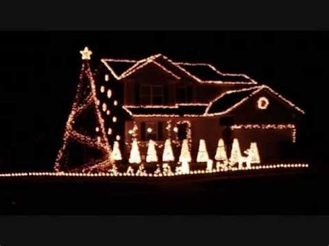 2011 brown christmas light show believe youtube