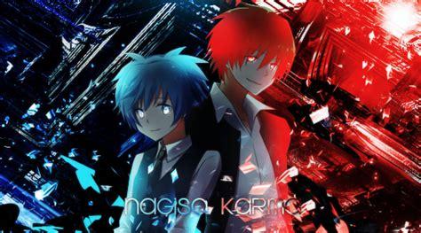imagenes de karma y nagisa karma x nagisa by mizusei chan on deviantart