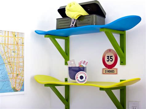 skateboard storage form and function come together with