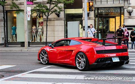 Lamborghini In Toronto Lamborghini Gallardo Spotted In Toronto Canada On 06 15