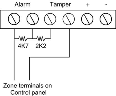 fitting passive infra pirs in a burglar alarm system