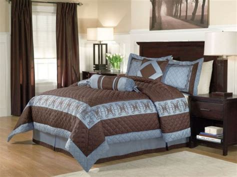 bedroom cool brown and blue bedroom ideas romantic 17 romantic brown and blue bedroom ideas