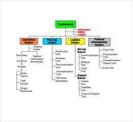 sample ics organizational chart 8 documents in pdf