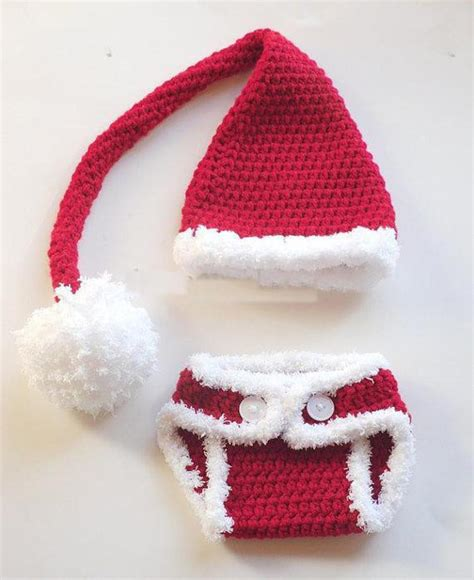 christmas pattern diapers cute baby christmas hats baby diaper cover handmade woolen