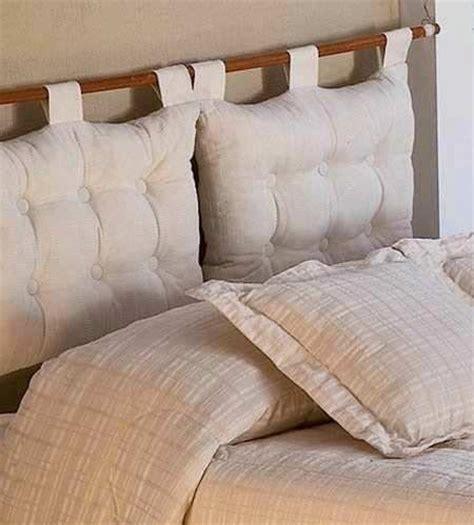 cabecera para somier respaldo de sommier con almohadones home manualidades
