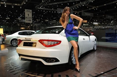 maserati woman automotive wallpapers 2009 maserati granturismo wallpaper