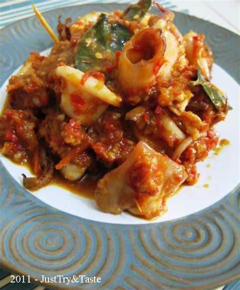 Go Forward Merah A just try taste cumi cumi sambal merah calamari