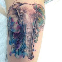 tattoo watercolor quebec 1000 ideias sobre colorful elephant tattoo no pinterest