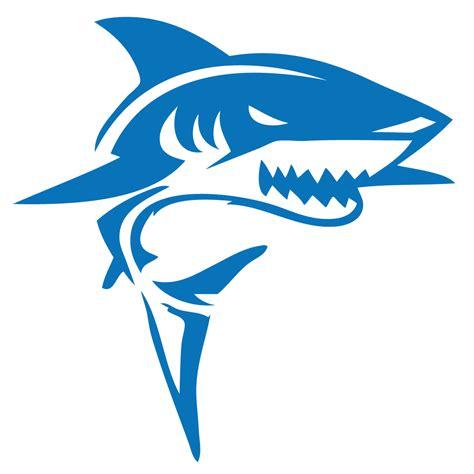 shark jaws silhouette decal vinyl sticker sticker
