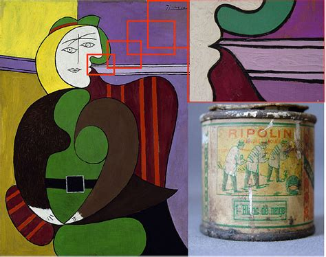 picasso paintings explanation picasso s genius revealed he used common house paint