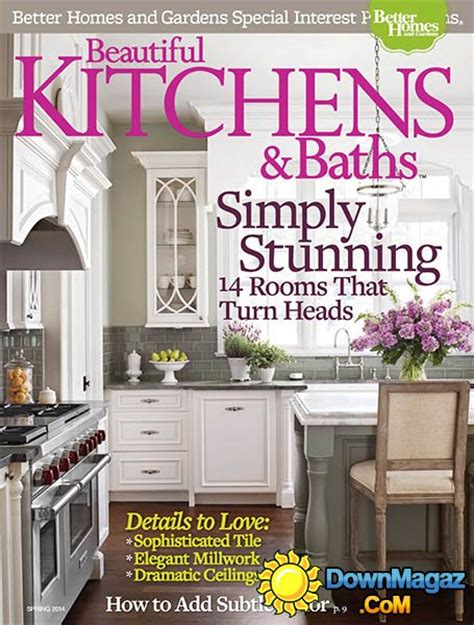 kitchen magazines beautiful kitchens baths spring 2014 187 download pdf
