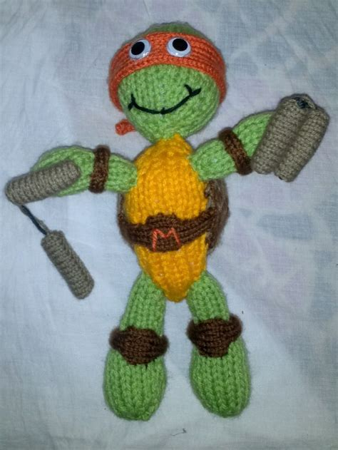 knitting pattern for ninja turtles knitted teenage mutant ninja turtle knitted children s
