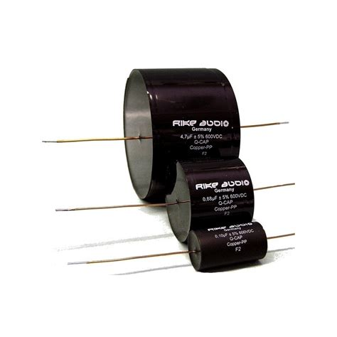 capacitor audio rike audio copper paper q cap capacitor 1uf 600v qcapcpp 1 fidelity components shop