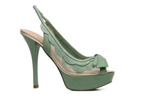 Guess Collection 3 3 Cm Type guess acai sandals in green at sarenza co uk 116291