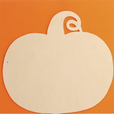 how to cut out a pumpkin for unfinished wood pumpkin cutout wood cutouts unfinished