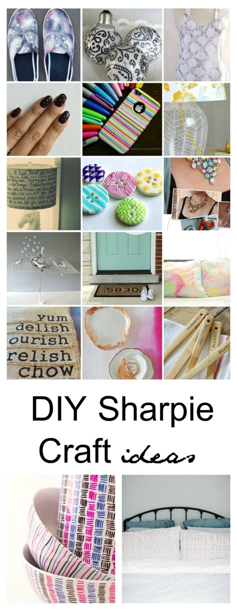 diy crafts with 25 sharpie diy craft ideas sharpie projects