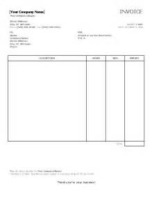 invoice template word 2003 invoice example