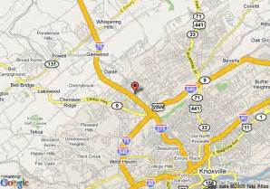 us map knoxville tn map of roof inn knoxville knoxville