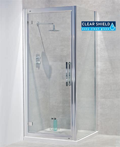 Shower Door 760 Avante 8mm 760 X 760 Hinged Shower Door
