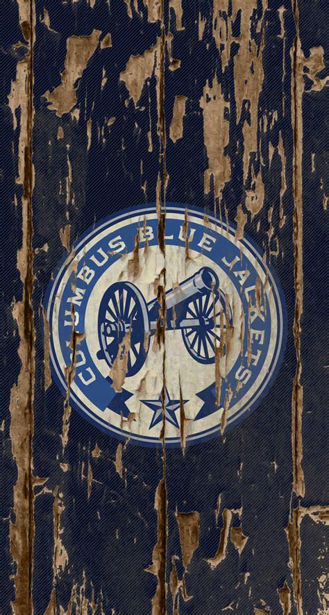 iphone wallpaper blue jackets blue jackets wallpaper wallpapersafari