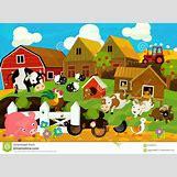 Cartoon Farm Scene | 1300 x 957 jpeg 194kB