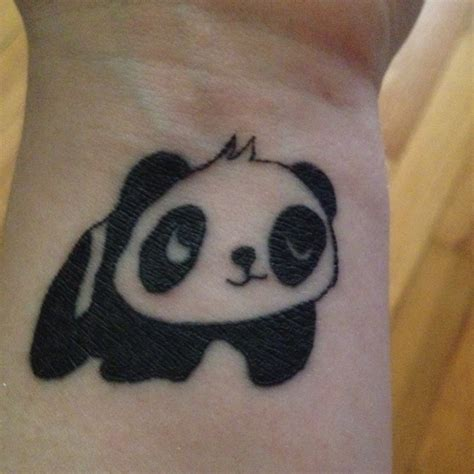 panda tattoo cute look at this cute panda tattoo 3 let s get inked