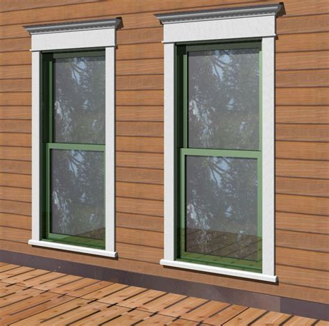 Exterior Door Molding Ideas 10 Exterior Window Trim Ideas For Home Aesthetic Homeideasblog