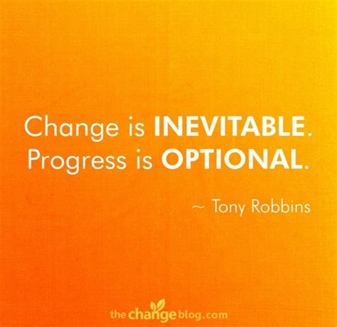 Its To Be Robbins by Everything Is When You Re Change Is Tough But
