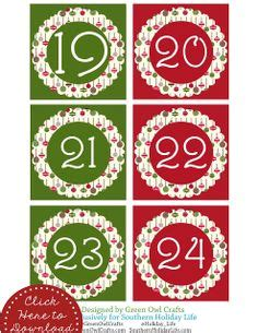 maths advent calendar printable 1000 images about printable 1 2 3 4 5 6 7 8 9 10 on