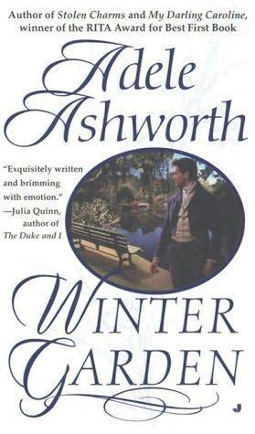 the second winter books winter garden winter garden book 2 by adele ashworth