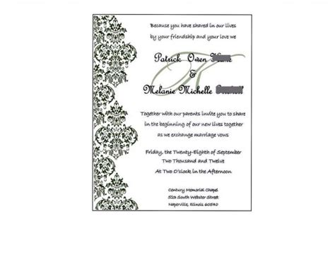 how to create a wedding invitation in publisher publisher wedding clipart