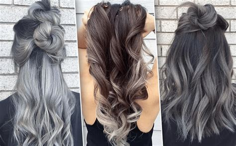 Ombre Look Grau by Grey Ombre Hair Ideas For The Most Fashionable Dyeing