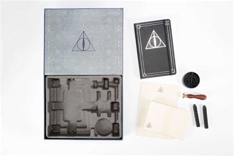 outlander deluxe stationery set books harry potter the deathly hallows deluxe stationery set