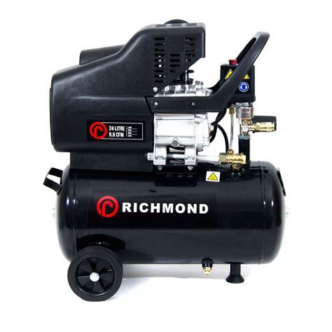 Hp Air 2 24 litre air compressor 9 6 cfm 2 5 hp 24l ebay