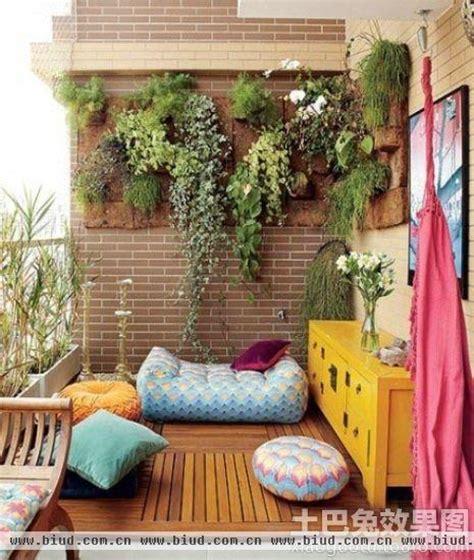 Apartment Balcony Awning 东南亚风格阳台设计图片 家居装修知识网