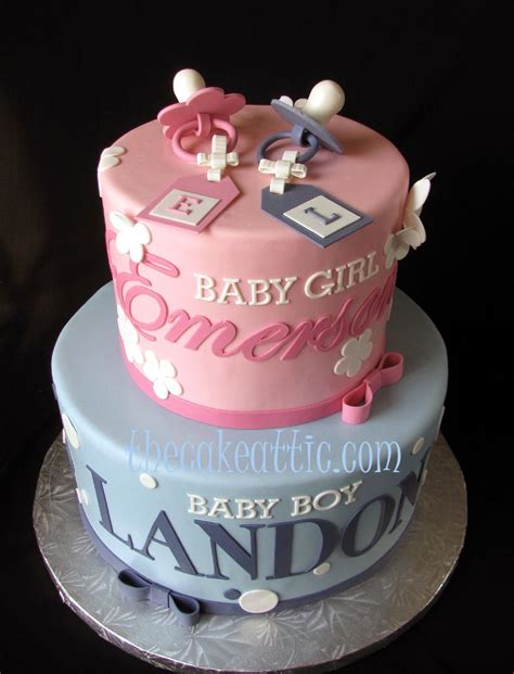 twin themed names twin shower cake ideas babyshower cake for twins with