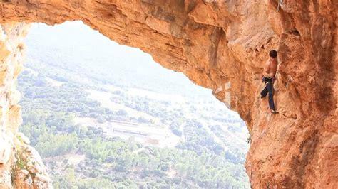 rock climbing mountain climbing extreme sports rope cliff